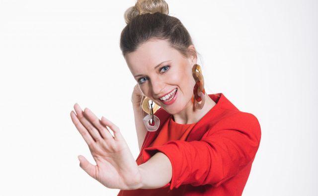 Ajda Smrekar bo vodila letošnji izbor za Pesem Evrovizije. Foto: David Lotrič