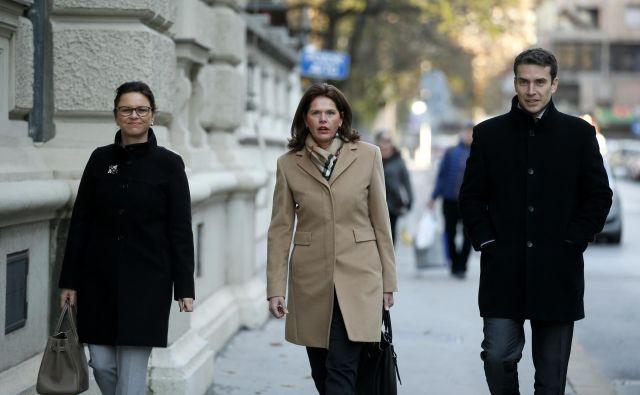Alenka Bratušek si bo na kongresu SAB izbrala štiri podpredsednike. FOTO: Matej Družnik/Delo