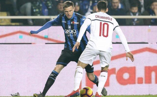 Josip Iličić je bil najboljši igralec pri Atalanti v derbiju proti Milanu. FOTO: Atalanta Bergamsca Calcio.