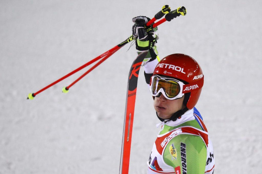 FOTO:Kristoffersen prvič (veleslalomski) prvak, Kranjec peti