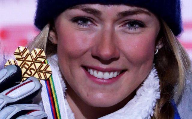 Mikaela Shiffrin je po zadnji tekmi na SP priznala, da je bila že povsem izčrpana. FOTO: Reuters
