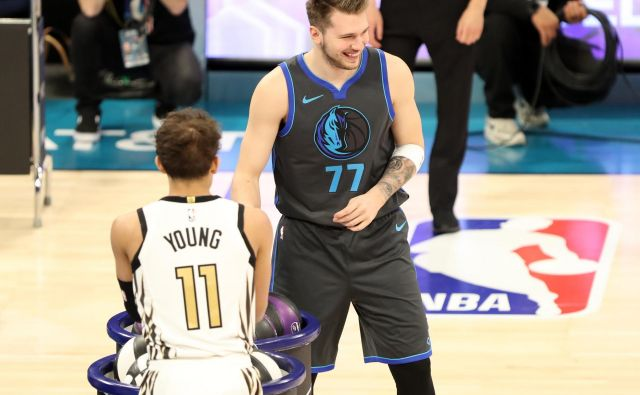 Luka Dončić je nastope v Charlottu vzel predvsem za zabavo. FOTO: Jim Dedmon/Usa Today Sports