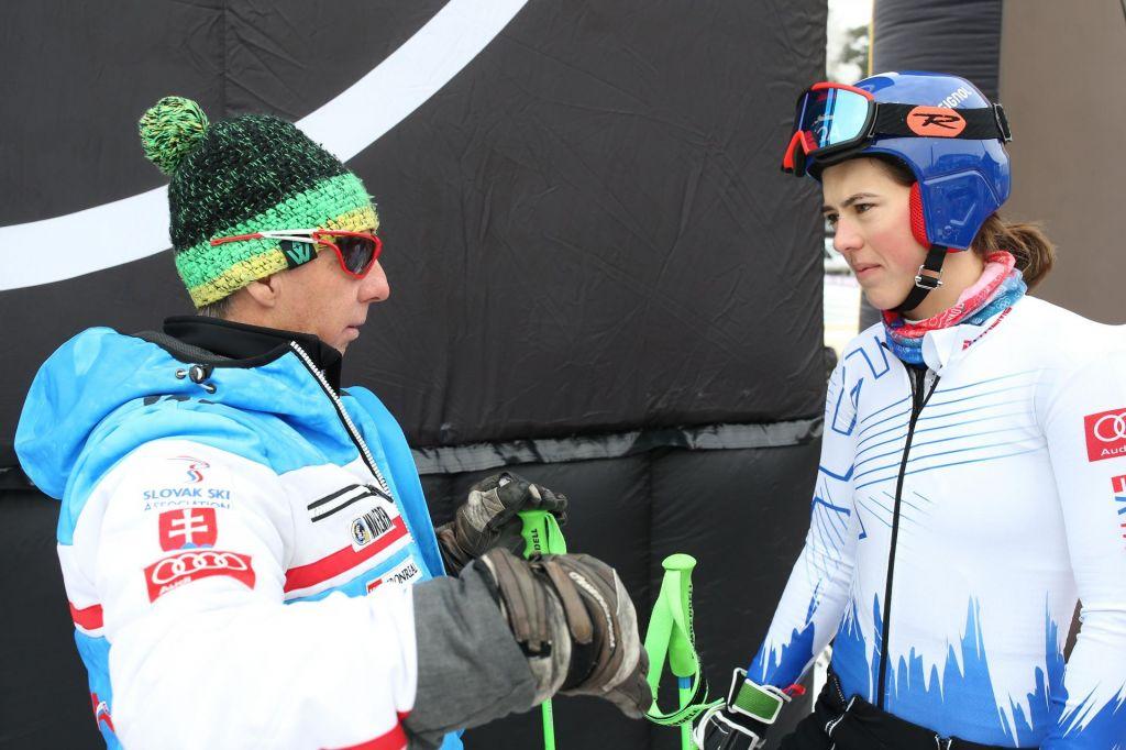 FOTO:Nekoč osvajal lovorike s Tino Maze, zdaj s Petro Vlhovo
