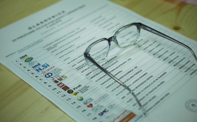 Kako bomo volili na prihodnjih parlamentarnih volitvah? FOTO: Jure Eržen/delo