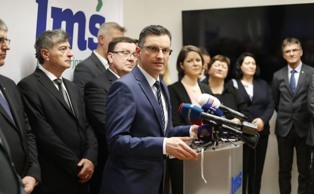 LMŠ bi glede na projekcijo evropskega parlamenta dobila tri evroposlance. FOTO: Leon Vidic/Delo