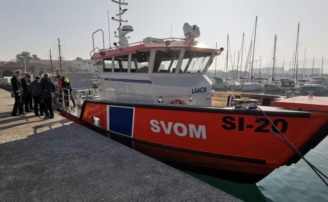 To je zdaj prvi ponos Uprave RS za pomorstvo. Foto Boris Šuligoj