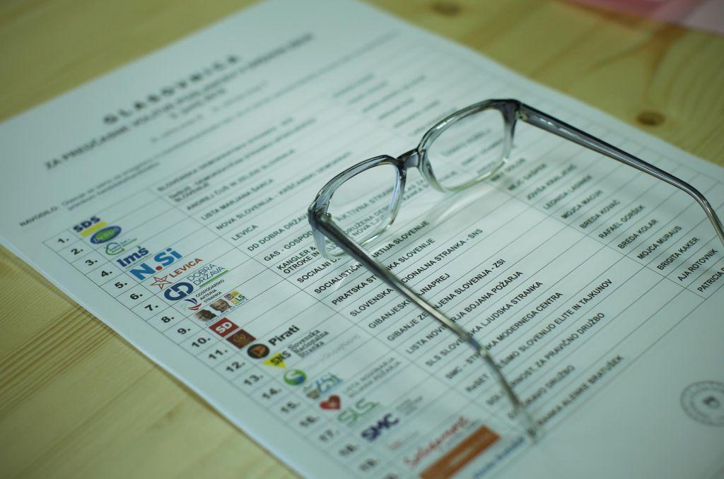 Predloga za spreminjanje okrajev ali preferenčni glas naj bi bila znana do poletja