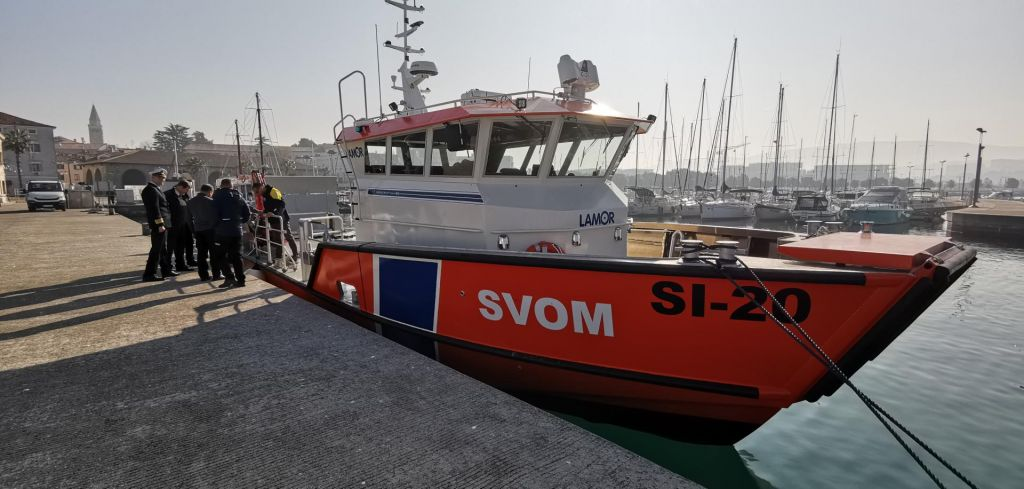 FOTO:Zdaj bolje pripravljeni na varovanje morja