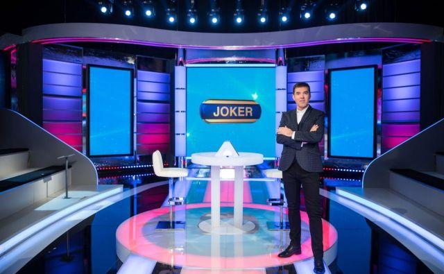 Kviz Joker, ki bo od 23. februarja na sporedu nacionalne televizije, bo vodil Mario Galunič. FOTO: RTV Slovenija
