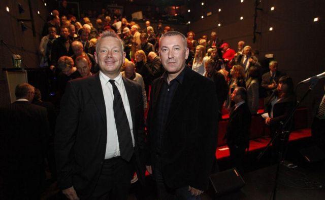 Od samega začetka sta srce Mini teatra Robert Waltl in Ivica Buljan. FOTO: Arhiv Mini Teatra