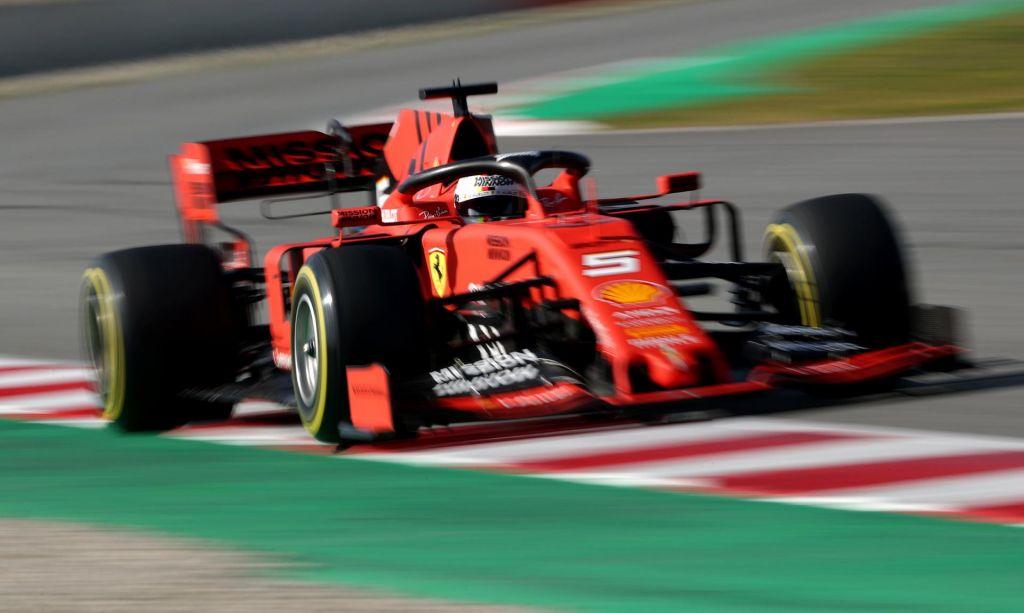 Testiranja najhitreje začel Vettel (VIDEO)