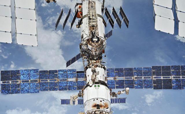 Mednarodna vesoljska postaja. FOTO: Roscosmos/ Nasa