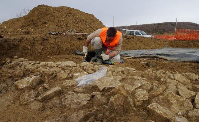 Medtem ko bodo arheologi izkopavali, bodo projektanti urejali dokumentacijo. FOTO: Miha Murko