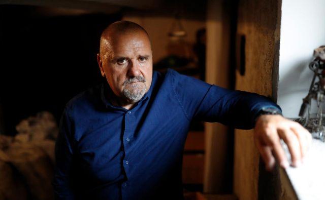 Zoran Poznič, zadnje desetletje direktor Delavskega doma v Trbovljah. FOTO: Uroš Hočevar/Delo
