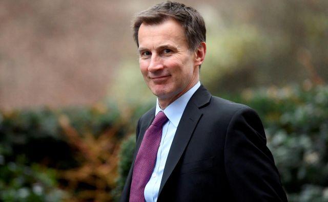 Jeremy Hunt bo že drugi britanski zunanji minister na obisku v Sloveniji v zadnjih dveh letih. Foto Reuters