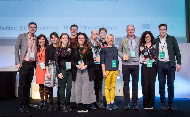 Zmagovalci evropskega tekmovanja za socialne inovacije 2018