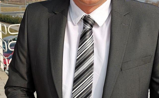Martin Pregelj, novi direktor Rižanskega vodovoda Koper Foto Boris Šuligoj