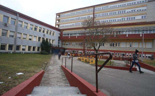 Splo�šna bolni�šnica Murska Sobota. Foto Tadej Regent/Delo