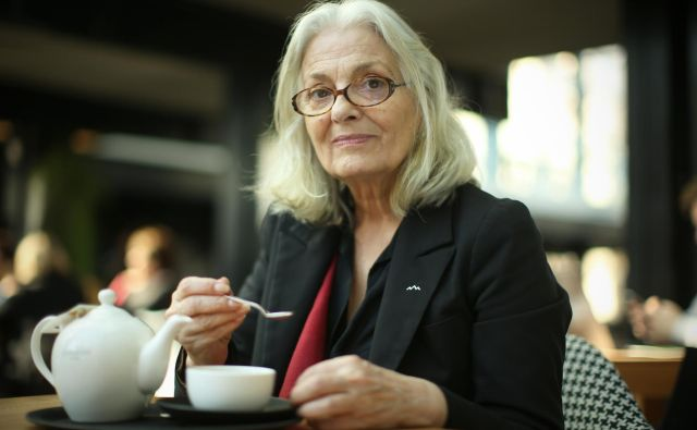 Bjanka Adžić Ursulov je zapeljiva pripovedovalka zgodb. FOTO: Jure Eržen<br />
