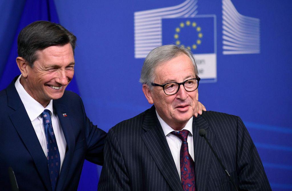 Pahor pri Junckerju - prijatelja tudi, kadar se ne strinjata