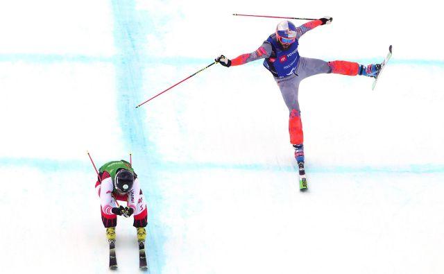 Filip Flisar si obeta, da bi lahko v Rusiji skočil najvišje v sezoni. FOTO: Tom Pennington/AFP