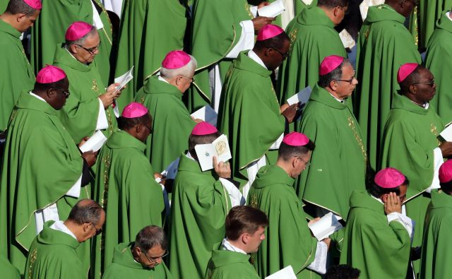 Homoseksualna mreža v Vatikanu je menda zelo vplivna, saj domnevno ščiti tudi pedofile. FOTO: Reuters