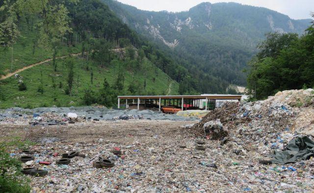 Center za ravnanje z odpadki Mala Mežakla FOTO Blaž Račič