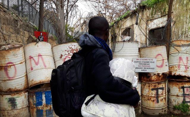 Osem tisoč beguncev je lani na Cipru zaprosilo za azil. Foto Boštjan Videmšek