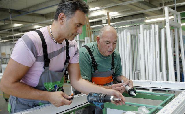 Delež starejših od 60 let, ki so delovno aktivni, se je v zadnjih osmih letih povečal za 200 odstotkov. Foto Blaž Samec