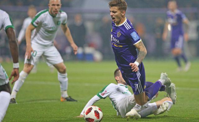 Luka Zahović brani strelsko lovoriko iz minule sezone, v kateri je zabil 18 golov. FOTO: Tadej Regent/Delo
