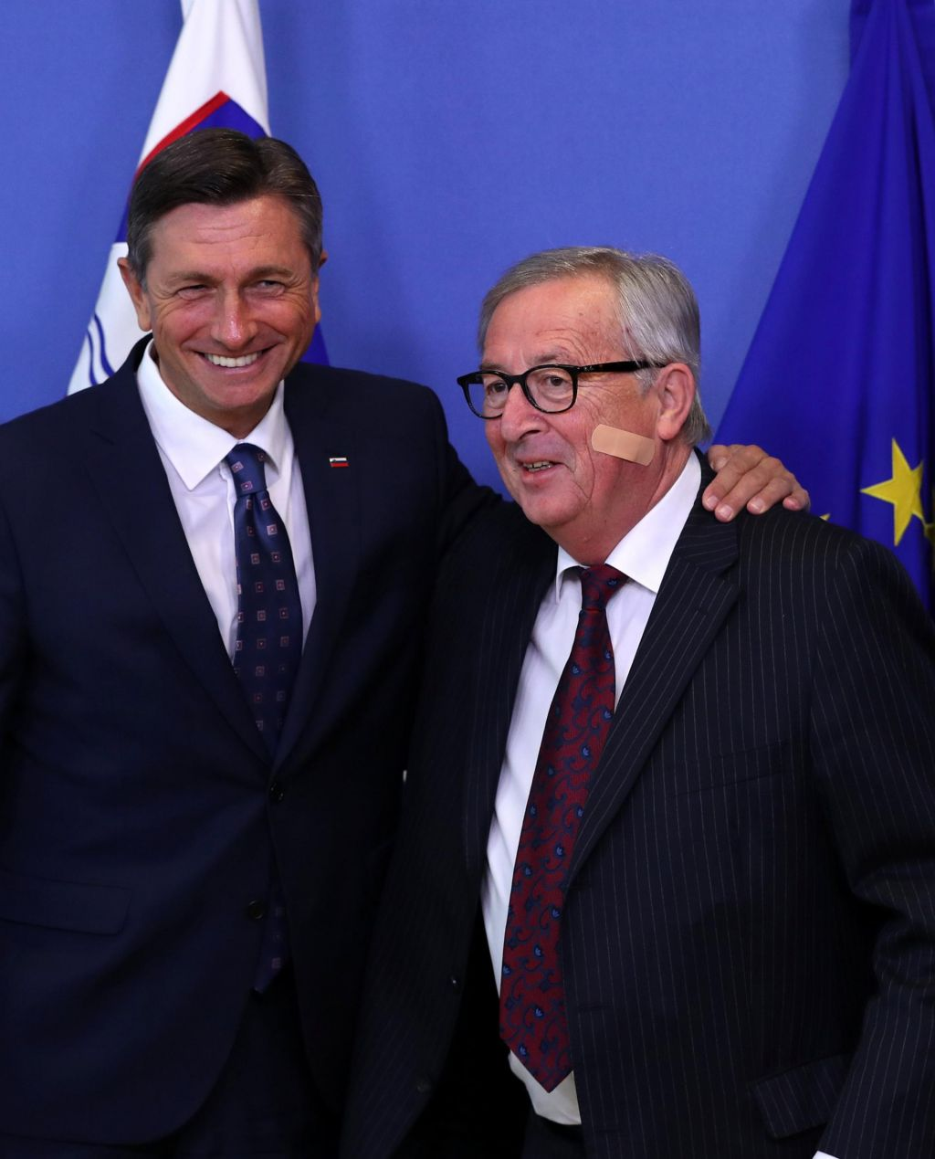 Pahor okrcal Junckerja: Zamudili ste priložnost