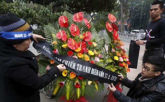 V Vietnamu so jubilej prvič zaznamovali s pričevanji svojih veteranov in eseji analitikov. FOTO: Reuters