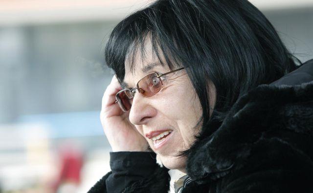 Svetlana Makarovič je pionirka slovenskega šansona. Foto Mavric Pivk
