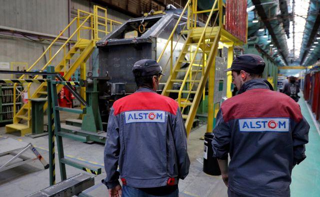 Prepoved združitve Alstoma in Siemensa je sprožila razpravo o evropski gospodarski strategiji. Foto: Reuters