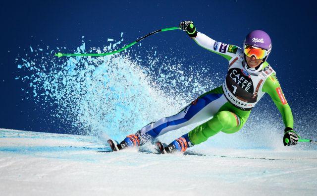 Ilka Štuhec v tej zimi ne bo več tekmovala. FOTO: Fabrice Coffrini/AFP