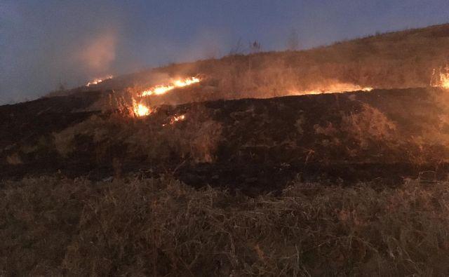Obstaja velika nevarnost požarev. FOTO: Oste Bakal