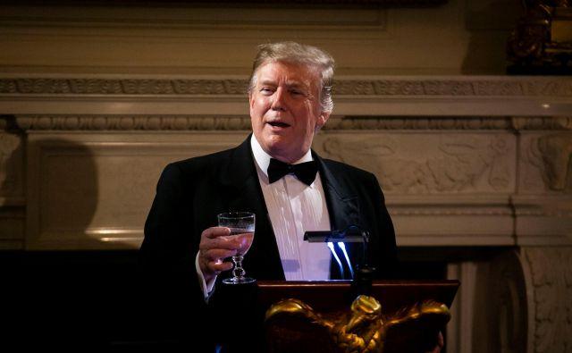Donald Trump je oznanil »znaten napredek v trgovinskih pogovorih s Kitajsko pri pomembnih strukturnih temah«. FOTO Reuters