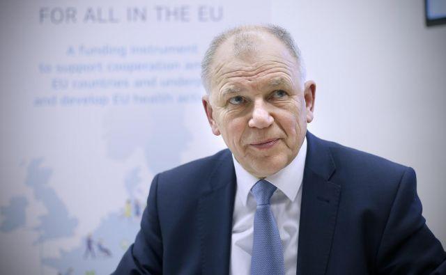 EU je uspelo vzpostaviti sistem zagotavljanja varne hrane, ki je eden izmed najboljših na svetu, pravi Vytenis Andriukaitis. FOTO: Blaž Samec