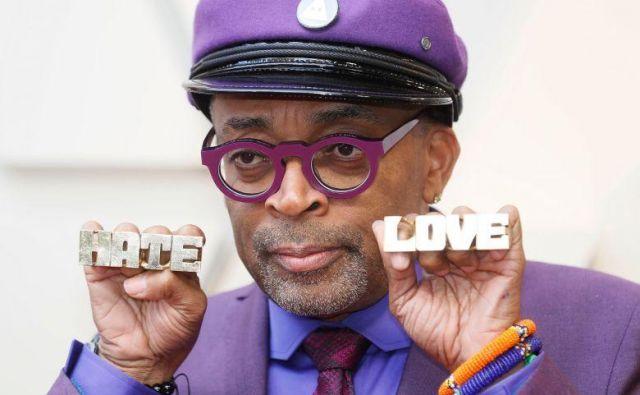 Nagrajeni Spike Lee je Američane pozval, naj izberejo med ljubeznijo in sovraštvom. FOTO: Shutterstock