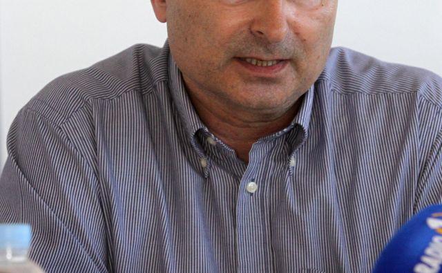 Direktor Splošne bolnišnice Izola Radivoj Nardin. Foto: Marko Feist