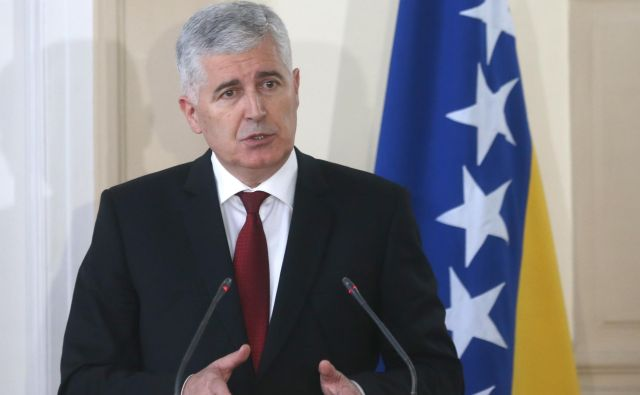 Ni še jasno, ali bo Dragan Čović podprl Milorada Dodika, ki je proti članstvu BiH v Natu. FOTO: Dado Ruvić/Reuters