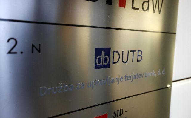 Vlada naj nemudoma razmisli o ukrepih, ki bi zagotovili primerno raven korporativnega upravljanja v DUTB, ocenjujejo na ministrstvu za finance. FOTO Aleš Černivec