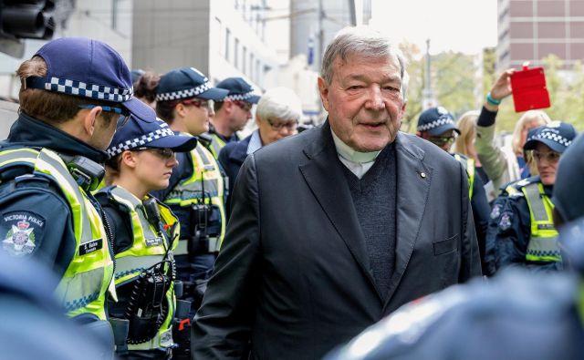 Kardinalu grozi do 50 let zapora. FOTO: Mark Dadswell/Reuters