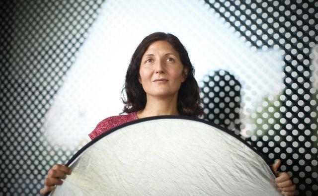 Gabrijela Zaharijaš je zaposlena na centru za astrofiziko in kozmologijo Univerze v Novi Gorici, sodeluje pa tudi pri mednarodnih kolaboracijah. Foto Jure Eržen