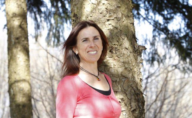 Bojana Pivk Kri�žnar je učiteljica in aktivistka. »Nikoli nisem razumela ljudi, ki so tožili, da jim je dolgčas. Zdi se mi, da bolj ko se vrtim, več energije imam.« FOTO: Mavric Pivk