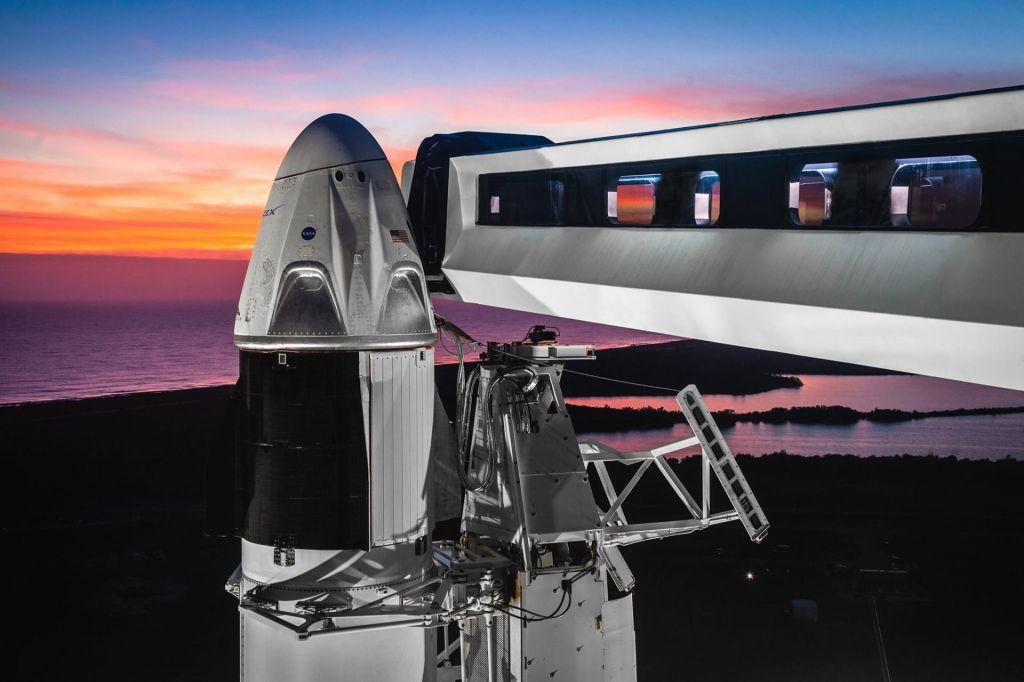 FOTO:Astronavti dobivajo nove vesoljske ladje (FOTO in VIDEO)