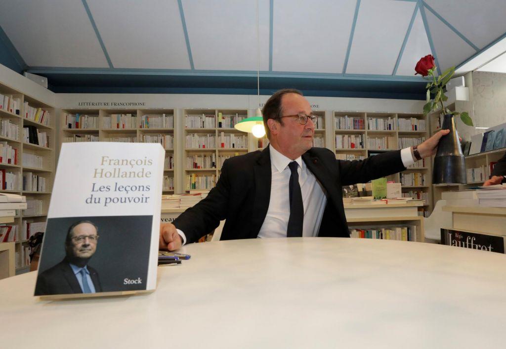 FOTO:François Hollande: Socialdemokrati imajo ključe. Najti morajo še vrata in se spet povezati z državljani