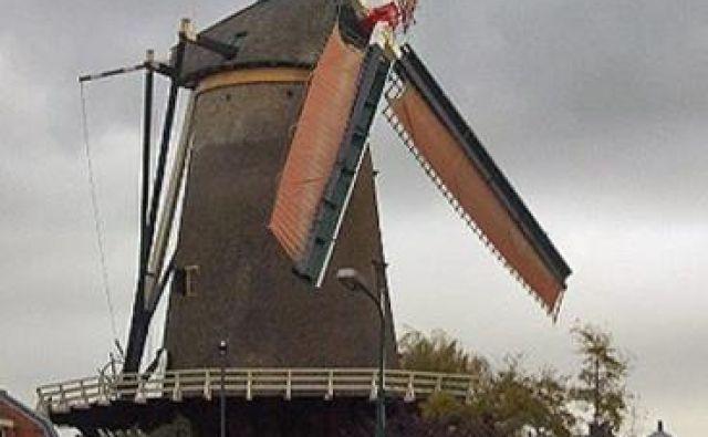 Windotter je eden največjih mlinov na veter na Nizozemskem. Foto Pinterest