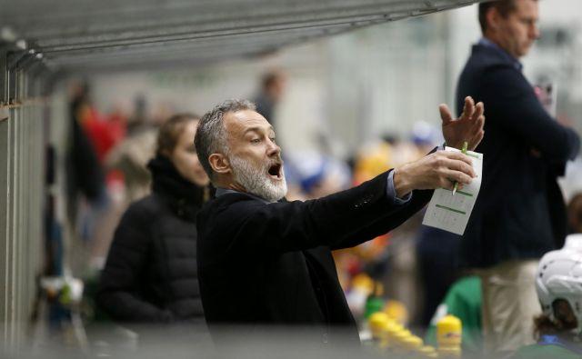 Jure Vnuk na tekmi med Olimpijo in Asiagom v Hali tivoli, Ljubljana 20. oktober 2018 [šport,zimski športi,hokej] Foto Matej Družnik