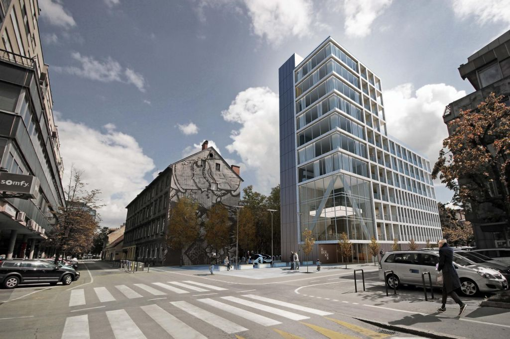 FOTO:Luksuz, ki bo zrasel na Kolodvorski ulici v Ljubljani